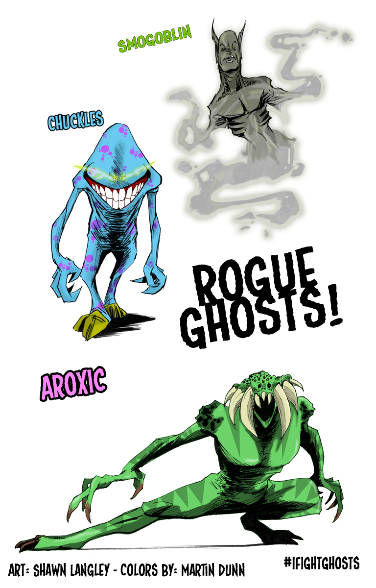 Rogue Ghosts! - A preview