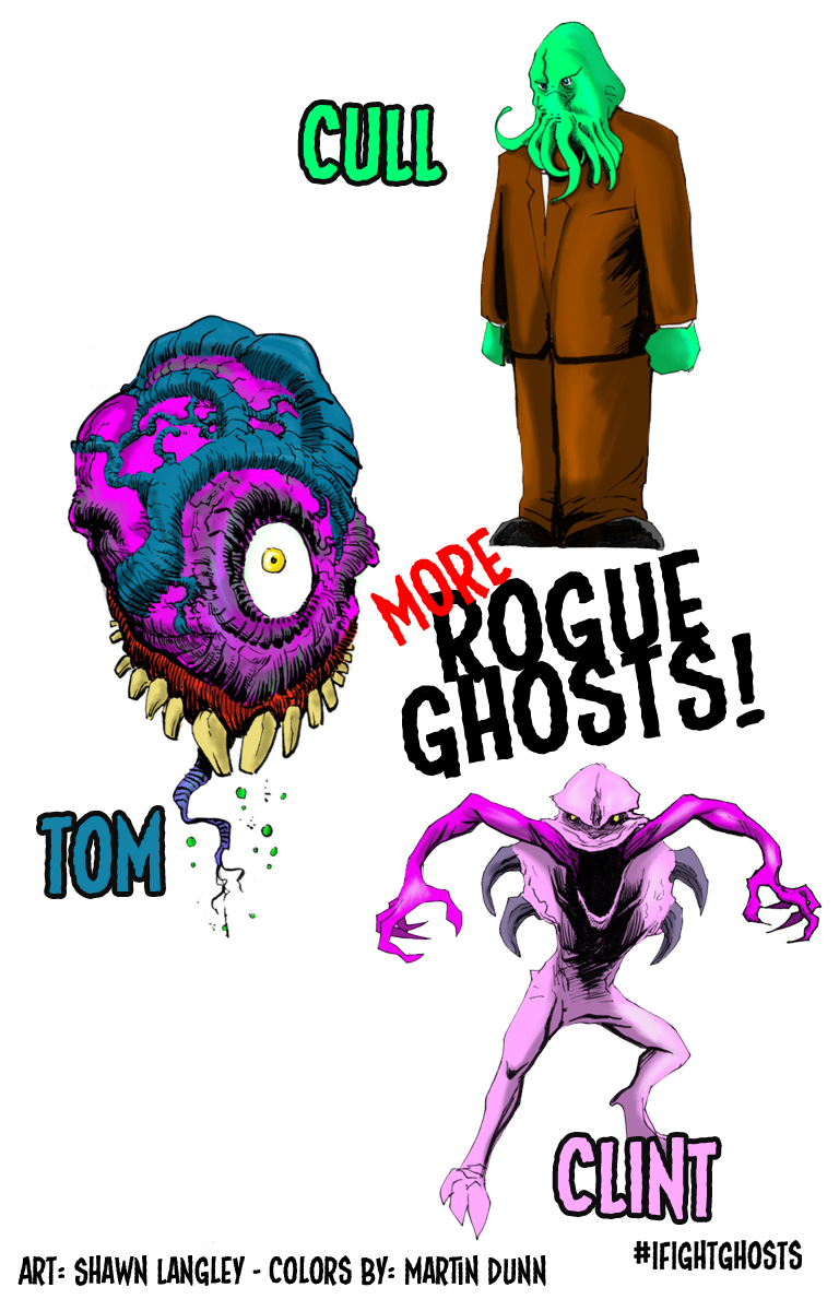 Rogue Ghosts Part 2
